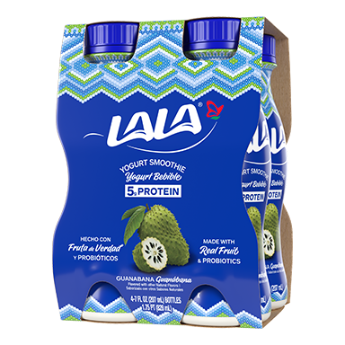 7 oz - 4 pack Guanabana LALA® Yogurt Smoothie  - LALA Foods